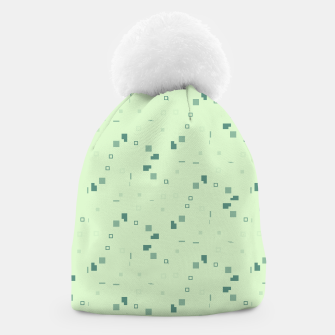 Simple Geometric Pattern 3 grl Beanie thumbnail image