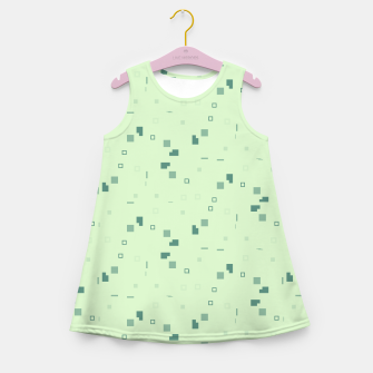 Simple Geometric Pattern 3 grl Girl's summer dress thumbnail image