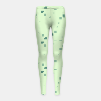 Simple Geometric Pattern 3 grl Girl's leggings miniature