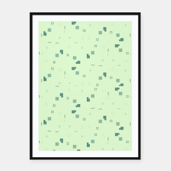 Simple Geometric Pattern 3 grl Framed poster miniature