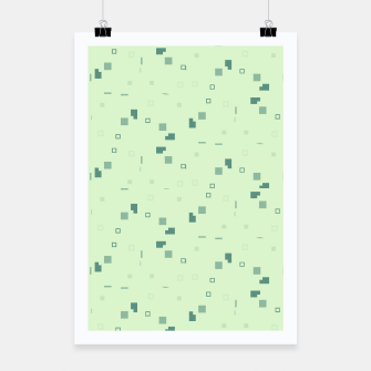 Simple Geometric Pattern 3 grl Poster miniature