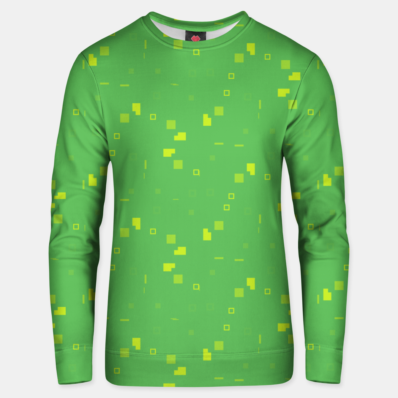 Image de Simple Geometric Pattern 3 gy Unisex sweater - Live Heroes