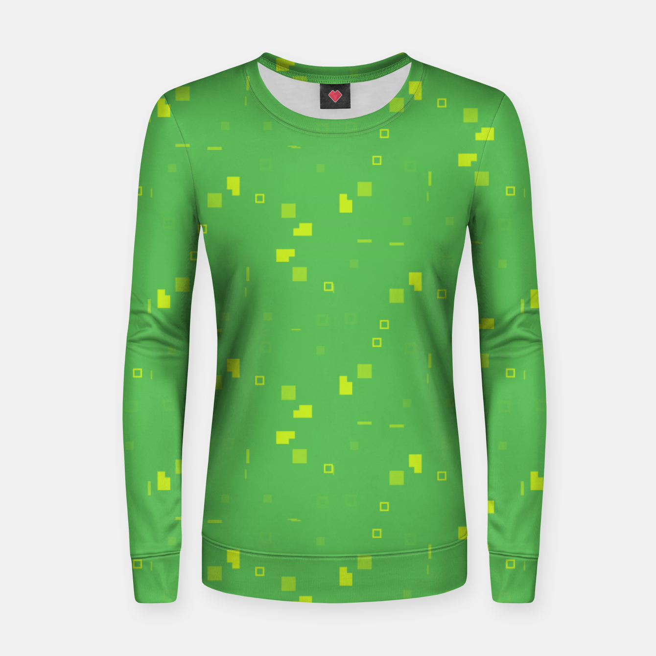 Image of Simple Geometric Pattern 3 gy Women sweater - Live Heroes