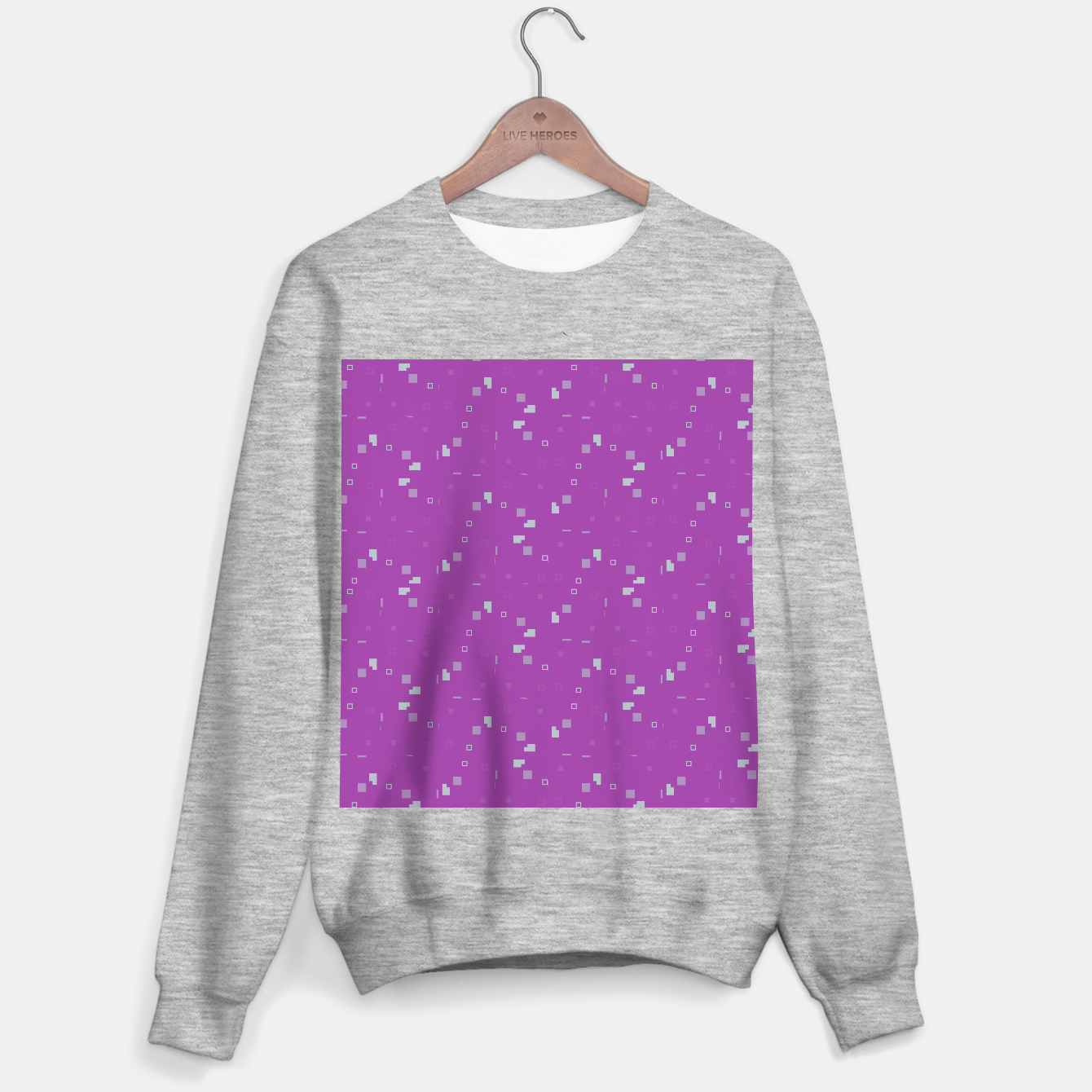 Image of Simple Geometric Pattern 3 itp Sweater regular - Live Heroes