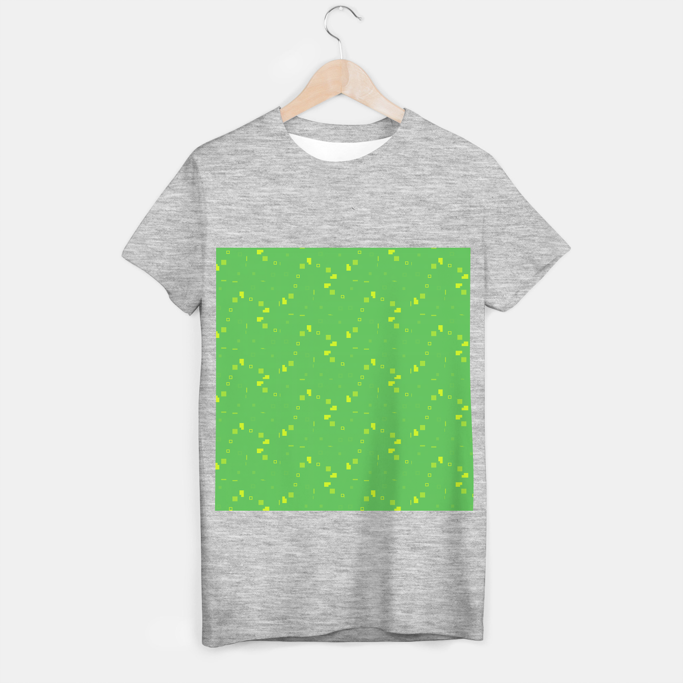 Image of Simple Geometric Pattern 3 gy T-shirt regular - Live Heroes