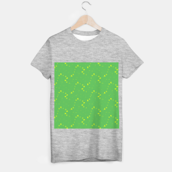 Simple Geometric Pattern 3 gy T-shirt regular miniature