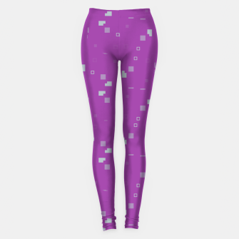 Simple Geometric Pattern 3 itp Leggings Bild der Miniatur