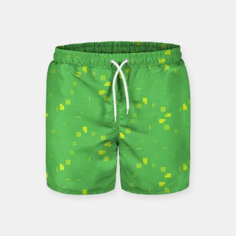 Miniature de image de Simple Geometric Pattern 3 gy Swim Shorts, Live Heroes