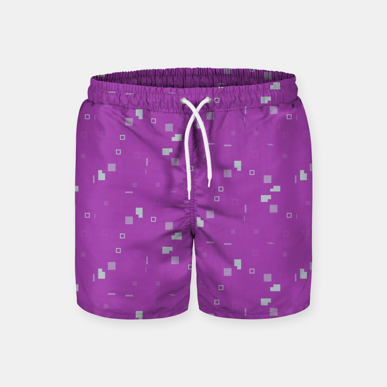 Image of Simple Geometric Pattern 3 itp Swim Shorts - Live Heroes
