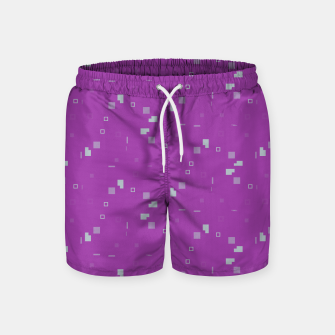 Thumbnail image of Simple Geometric Pattern 3 itp Swim Shorts, Live Heroes