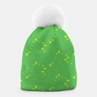 Thumbnail image of Simple Geometric Pattern 3 gy Beanie, Live Heroes