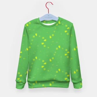 Simple Geometric Pattern 3 gy Kid's sweater thumbnail image
