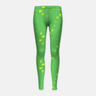 Thumbnail image of Simple Geometric Pattern 3 gy Girl's leggings, Live Heroes