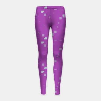Thumbnail image of Simple Geometric Pattern 3 itp Girl's leggings, Live Heroes