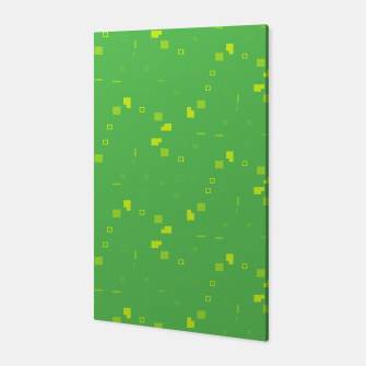 Simple Geometric Pattern 3 gy Canvas miniature