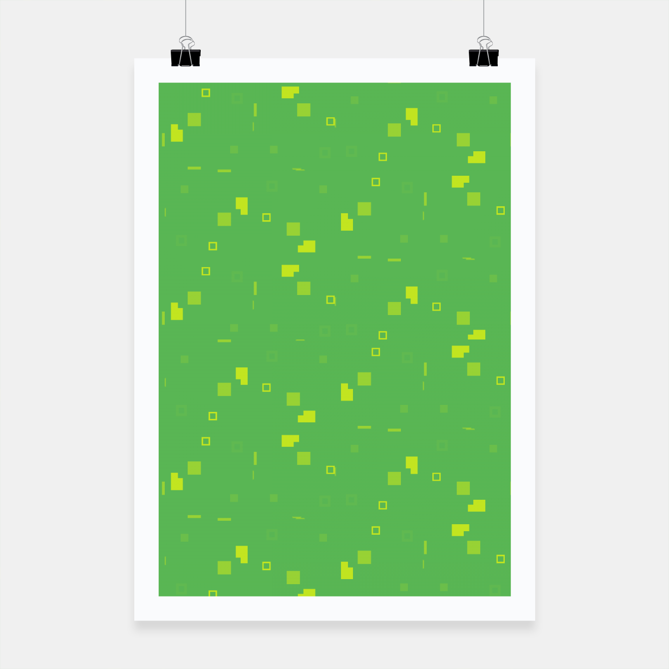 Image of Simple Geometric Pattern 3 gy Poster - Live Heroes