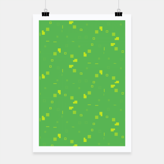 Simple Geometric Pattern 3 gy Poster miniature