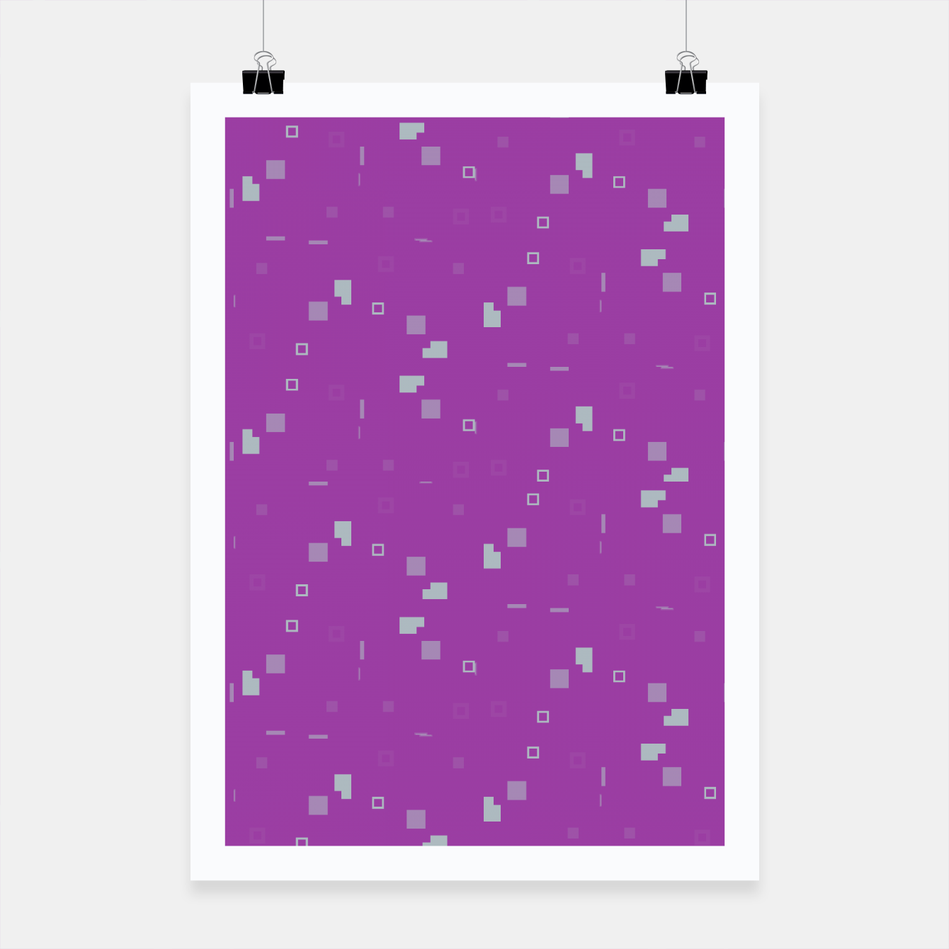 Image of Simple Geometric Pattern 3 itp Poster - Live Heroes