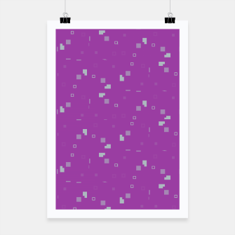 Simple Geometric Pattern 3 itp Poster Bild der Miniatur