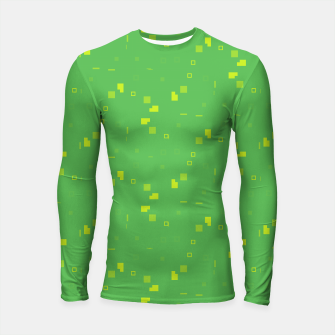 Simple Geometric Pattern 3 gy Longsleeve rashguard  miniature