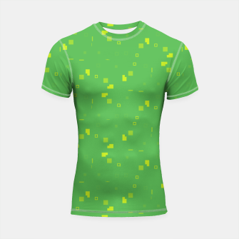 Thumbnail image of Simple Geometric Pattern 3 gy Shortsleeve rashguard, Live Heroes