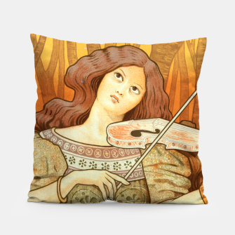 Thumbnail image of Violin Lessons Pillow, Live Heroes