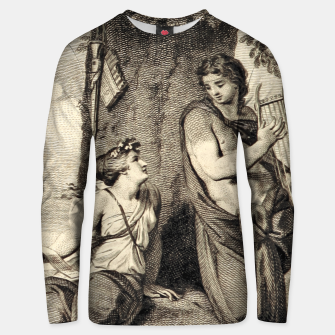 Thumbnail image of The couple Unisex sweater, Live Heroes