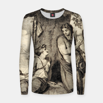 Thumbnail image of The couple Women sweater, Live Heroes