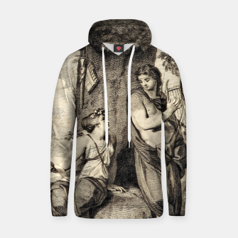 Thumbnail image of The couple Hoodie, Live Heroes