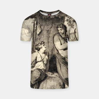 Thumbnail image of The couple T-shirt, Live Heroes
