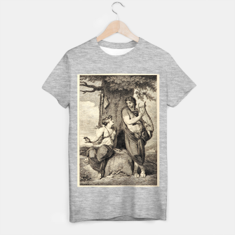 Thumbnail image of The couple T-shirt regular, Live Heroes