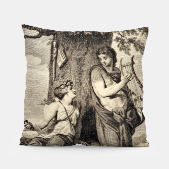 Thumbnail image of The couple Pillow, Live Heroes