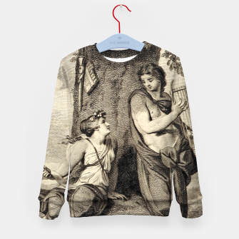 Thumbnail image of The couple Kid's sweater, Live Heroes