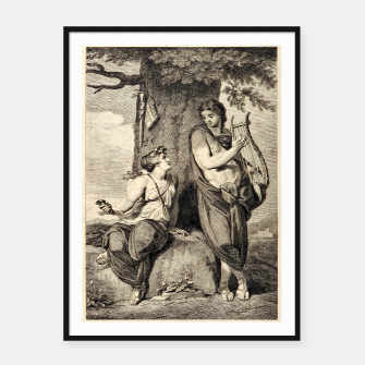 Thumbnail image of The couple Framed poster, Live Heroes