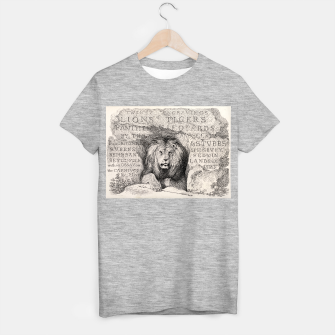 Thumbnail image of King T-shirt regular, Live Heroes