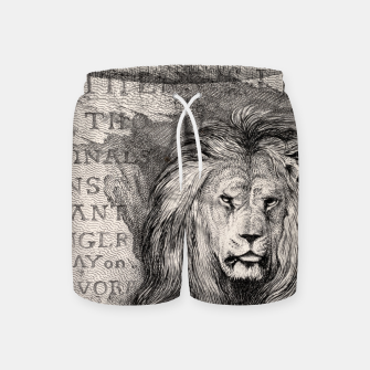 Thumbnail image of King Swim Shorts, Live Heroes