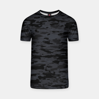 Thumbnail image of Night Camouflage Pattern Mosaic Style  T-Shirt, Live Heroes