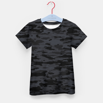 Thumbnail image of Night Camouflage Pattern Mosaic Style  T-Shirt für kinder, Live Heroes