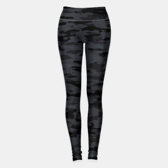 Thumbnail image of Night Camouflage Pattern Mosaic Style  Leggings, Live Heroes