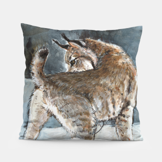 Thumbnail image of Canadian Lynx in Winter Almohada, Live Heroes