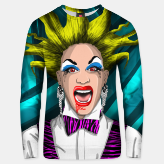 Thumbnail image of DRAG QUEEN tres Sudadera unisex, Live Heroes