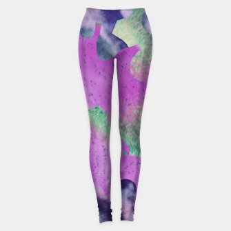 Miniatur purple mind  Legginsy, Live Heroes