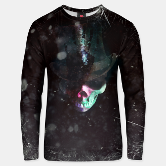 Thumbnail image of Top hat  Unisex sweater, Live Heroes