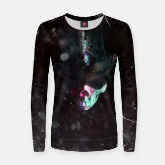 Thumbnail image of Top hat  Women sweater, Live Heroes