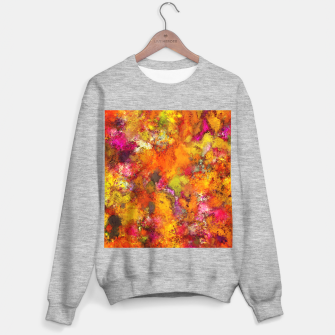 Miniatur Orange pop Sweater regular, Live Heroes