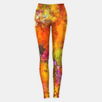 Orange pop Leggings thumbnail image