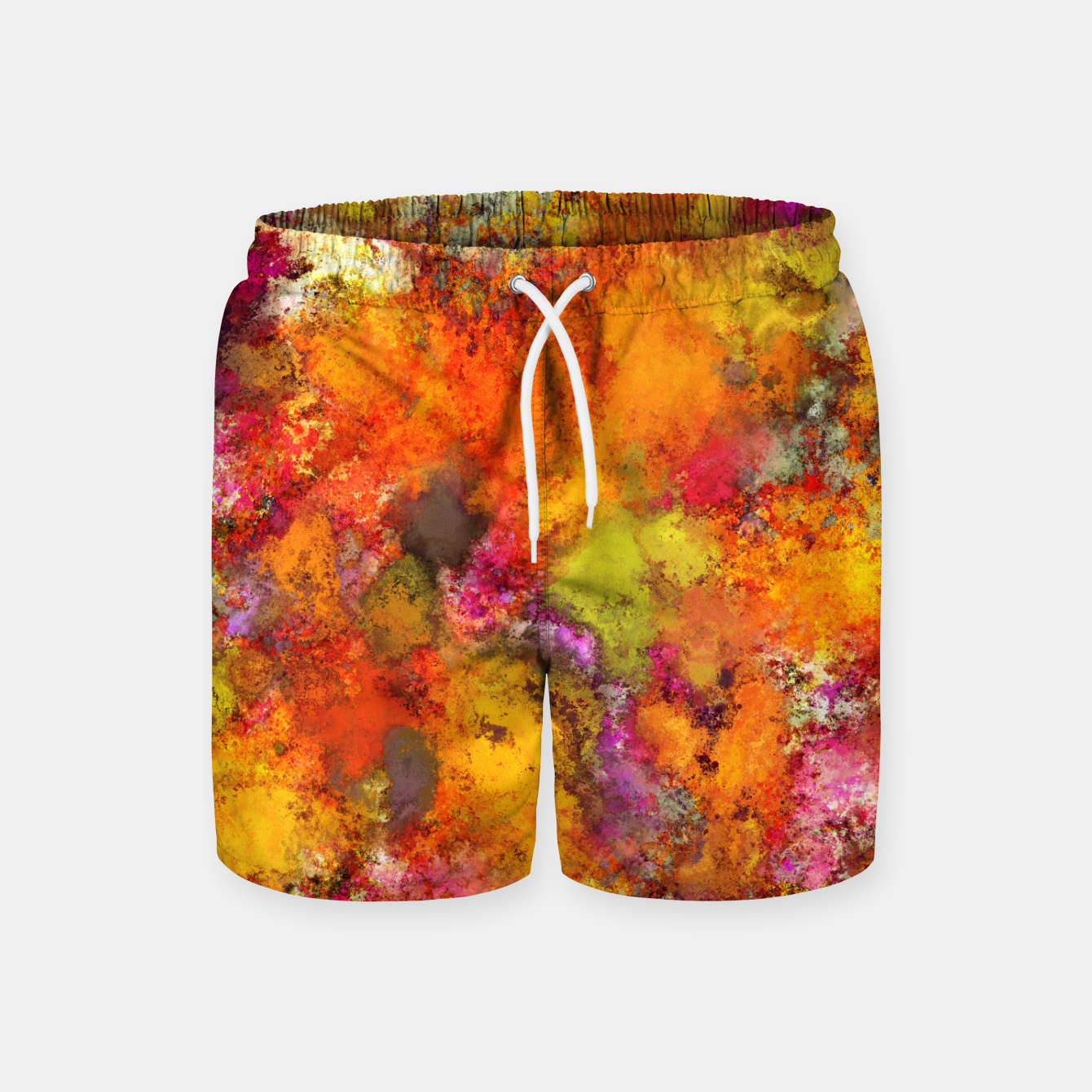 Zdjęcie Orange pop Swim Shorts - Live Heroes