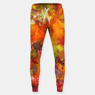 Thumbnail image of Orange pop Sweatpants, Live Heroes