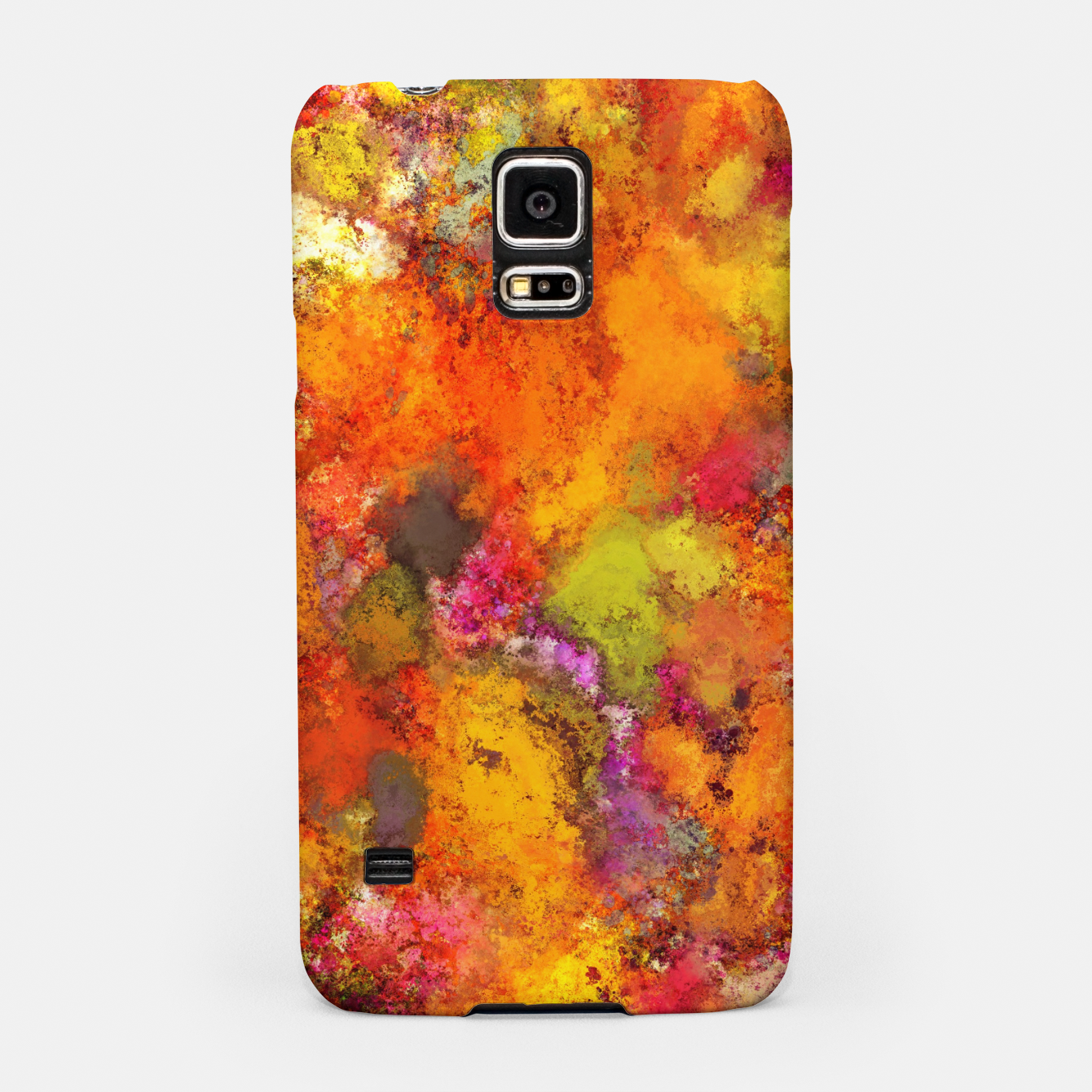 Image of Orange pop Samsung Case - Live Heroes