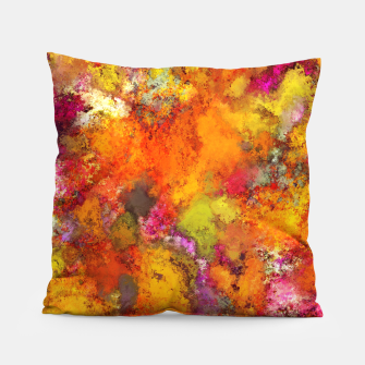 Miniatur Orange pop Pillow, Live Heroes